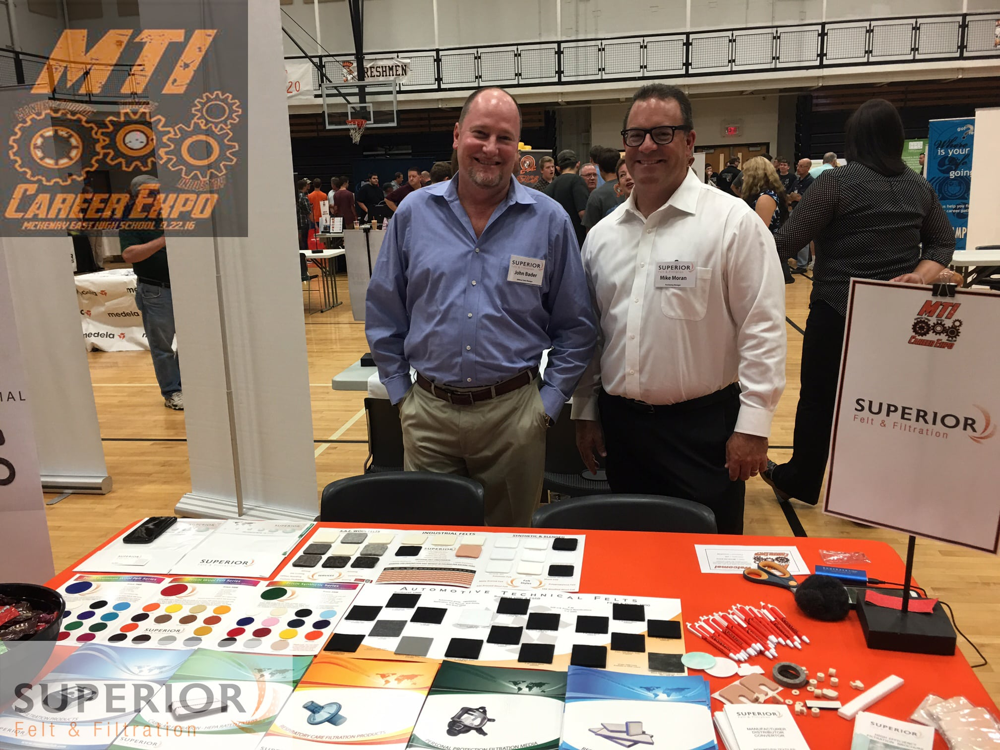 Non Woven Manufacturers Educate Students at MTI Career Expo