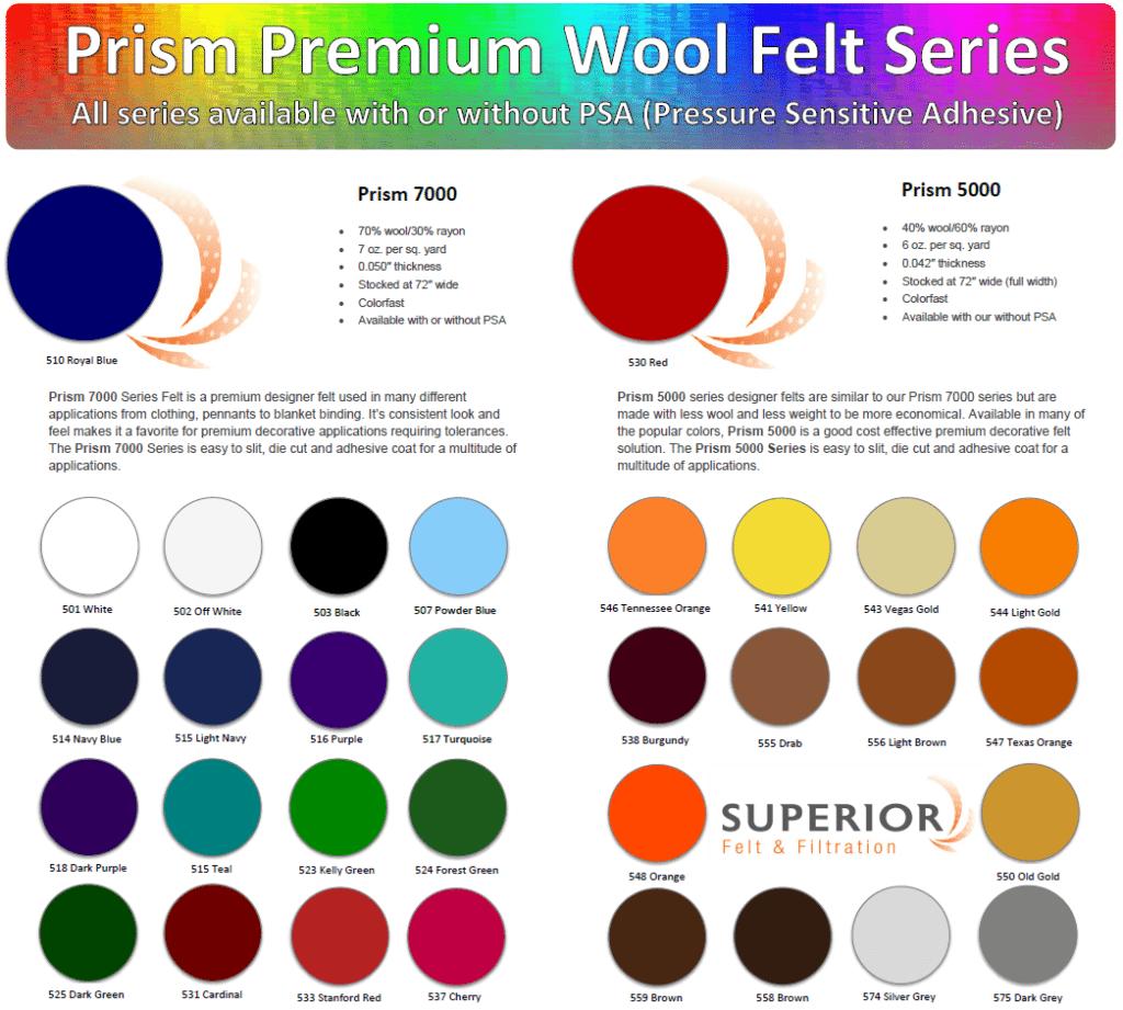 designer wool felt