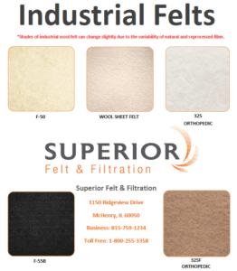 industrial felt suppliers
